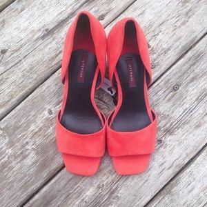 Uterque red heels